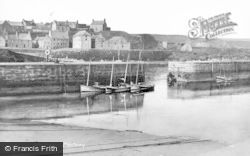 Portsoy, The Harbour c.1935