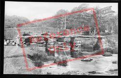 Old Clapper Bridge c.1960, Postbridge