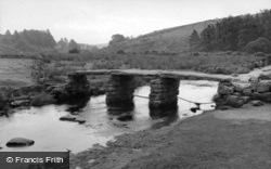 The Clapper Bridge 1958, Postbridge