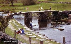 The Old Clapper Bridge 1985, Postbridge
