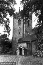 St Christopher's Church c.1955, Pott Shrigley