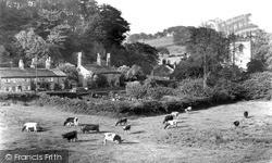 The Village And Church c.1955, Pott Shrigley