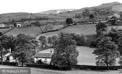 The Village c.1955, Pott Shrigley