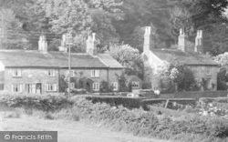 Village Houses c.1955, Pott Shrigley