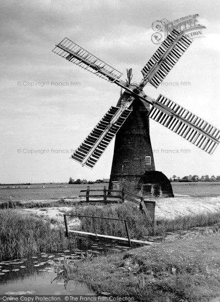 ,Potter Heigham, the Windmill c1926, Norfolk,