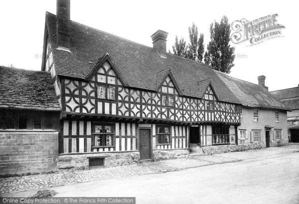 Photo of Potterne, Old Houses 1898