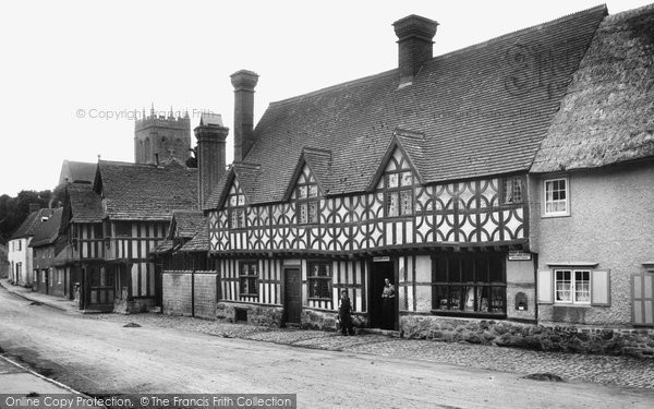 Photo of Potterne, Old Houses And Church 1898