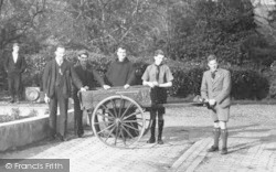 Potters Bar, Boys With Handcart, St Raphael's Colony, Barvin Park c.1950