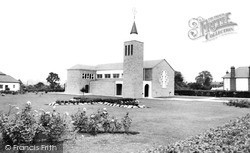 Potters Bar, Church Of The Vincentian Spanish Fathers c.1965