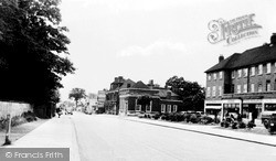 Potters Bar, High Street c.1955