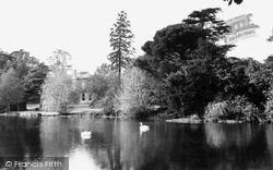 Potters Bar, Oakmere House And Lake c.1953