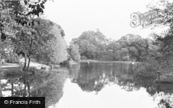 Potters Bar, Oakmere Lake c.1955