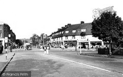 Potters Bar, The Broadway c.1955