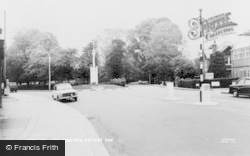 Potters Bar, The Cenotaph c.1965