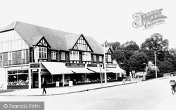 Potters Bar, The Old Shops c.1965