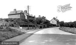 Potton, Biggleswade Road c.1955