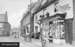 Market Square c.1955, Potton