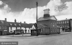 Potton, Market Square c.1955
