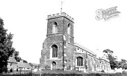 Potton, St Mary's Church c.1955