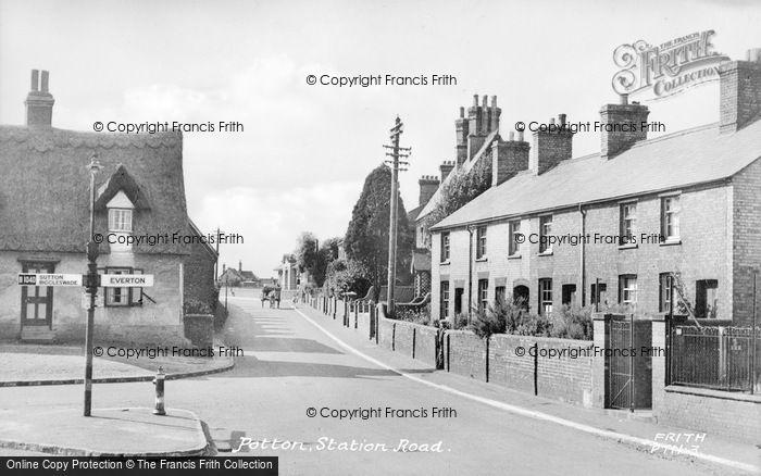 Photo of Potton, Station Road c.1955