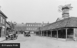 Potton, The Old Shambles c.1930