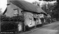 Thatched Cottage c.1960, Poughill