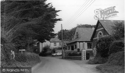 The Methodist Chapel c.1960, Poughill