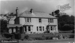 Trelana Guest House c.1960, Poughill