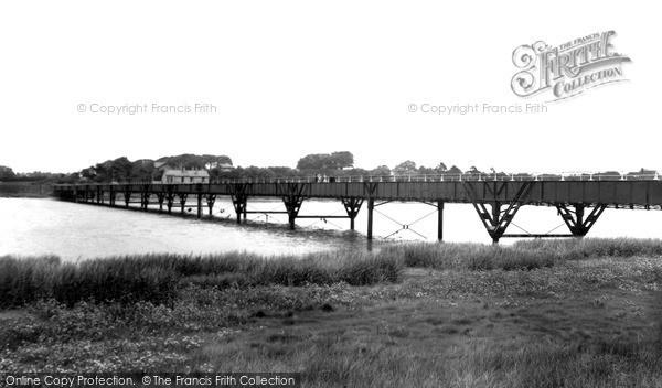 Photo of Poulton Le Fylde, Shard Bridge c.1955
