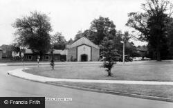 Pound Hill, Christ Church c.1960