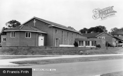 Pound Hill, St Barnabas' Church c.1960