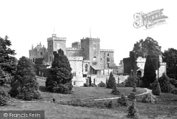 Castle c.1874, Powderham