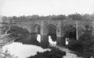 Powick, Old Bridge 1906