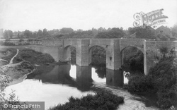 Powick, Old Bridge 1906