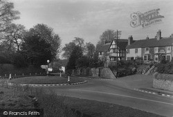 Powick, The Roundabout c.1955