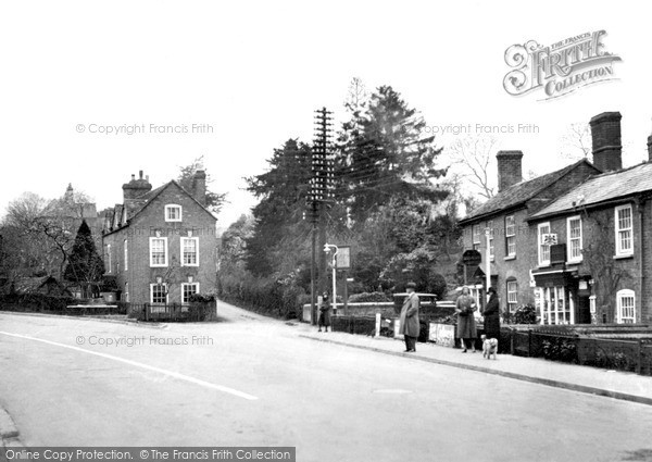 Photo of Powick, the Village c1955