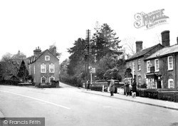 Powick, The Village c.1955