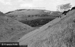 Poynings, Devil's Dyke Valley c.1955