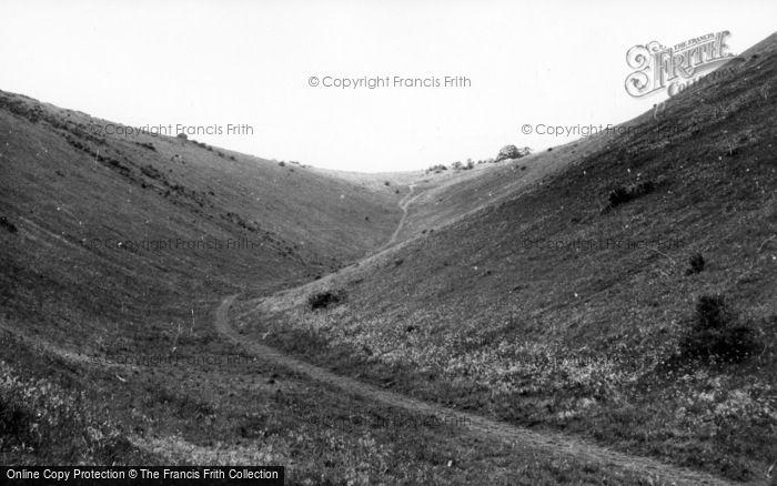 Photo of Poynings, Devil's Valley c.1955