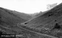 Poynings, Devil's Valley c.1955