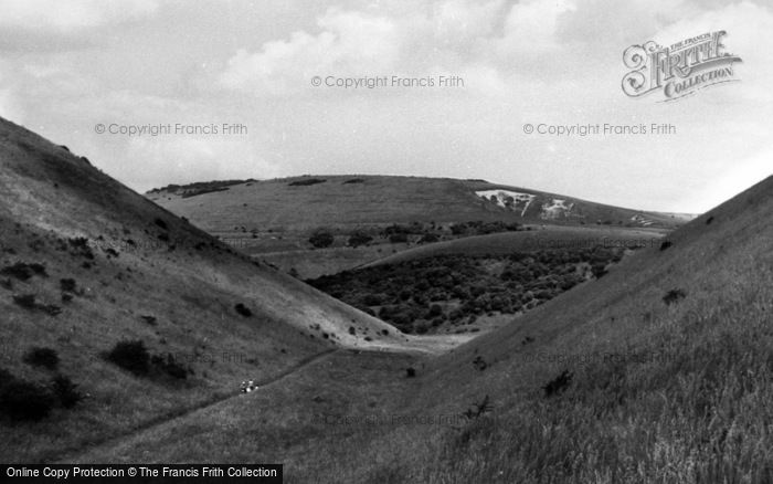 Photo of Poynings, Devil's Valley c.1955