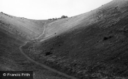 Poynings, Devil's Valley c.1955
