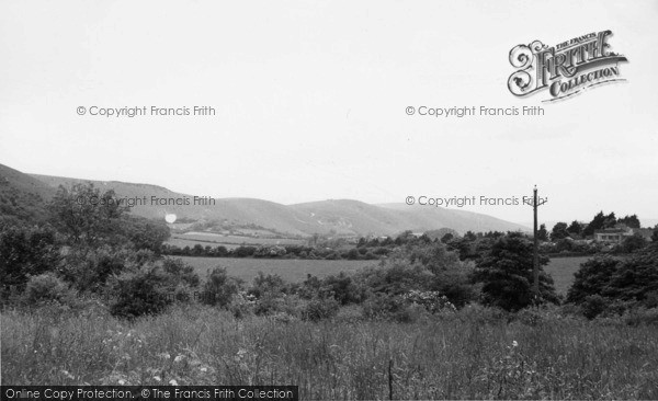 Photo of Poynings, Dyke Hills c.1955