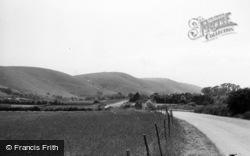 Poynings, Dyke Hills c.1955