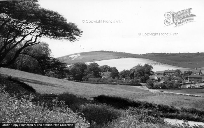 Photo of Poynings, Saddlescombe Farm c.1955