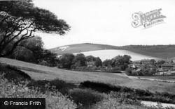 Poynings, Saddlescombe Farm c.1955