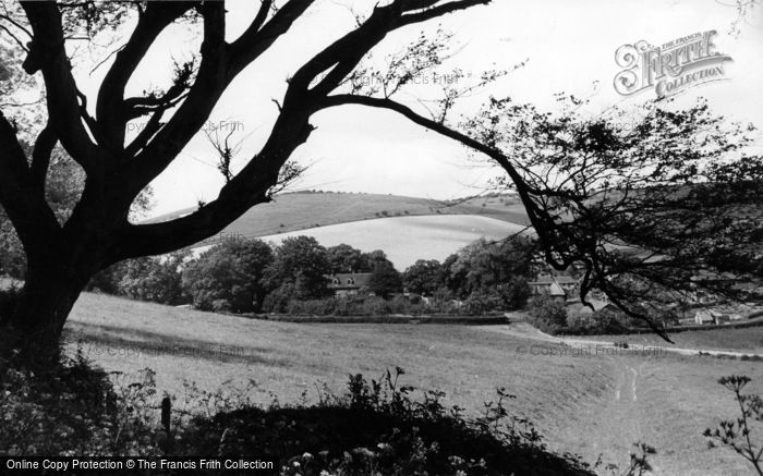 Photo of Poynings, The Downs c.1955