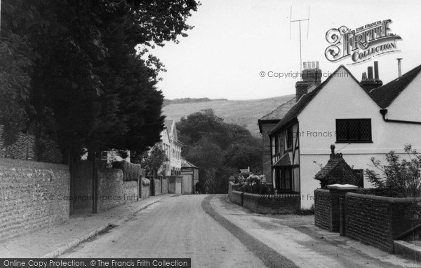 Photo of Poynings, The Street c.1955