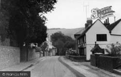 Poynings, The Street c.1955