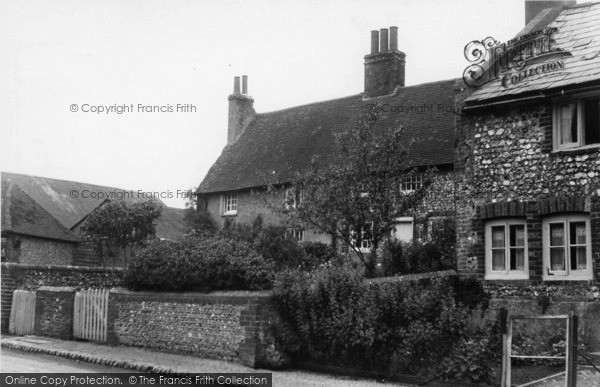 Photo of Poynings, The Village c.1955